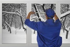 Монтаж окон в домах из сип панелей