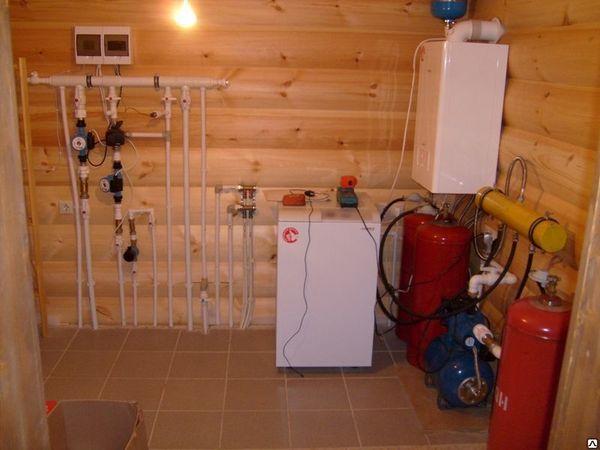 Отопление от газового котла своими руками 731